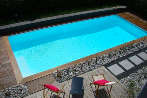 zwembad polystyreenblokken