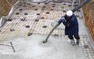storten vloerplaat bouwkundig zwembad